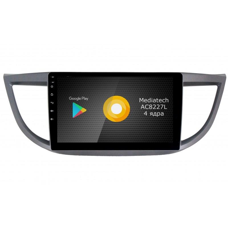 Фото - Штатная магнитола Roximo S10 RS-1904 для Honda CR-V 4 (Android 8.1) (+ Камера заднего вида в подарок!) видео