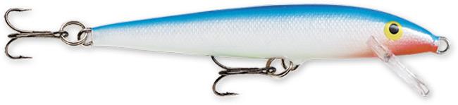 Воблер плавающий Rapala Original Floater F11-B (1,2м-1,8м, 11 см 6 гр) цена