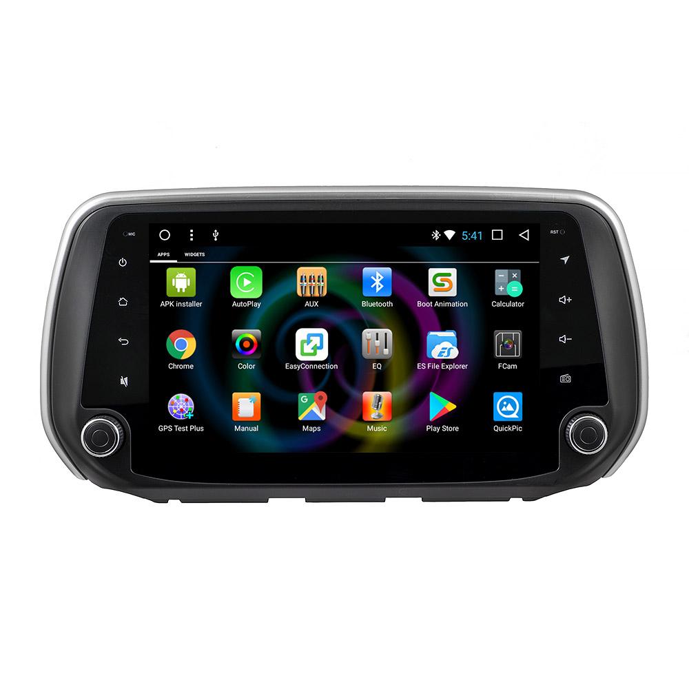 Штатное головное устройство MyDean B802 для Hyundai Santa Fe (2018-) (+ Камера заднего вида в подарок!) штатное головное устройство daystar ds 7004hd hyundai santa fe android 6