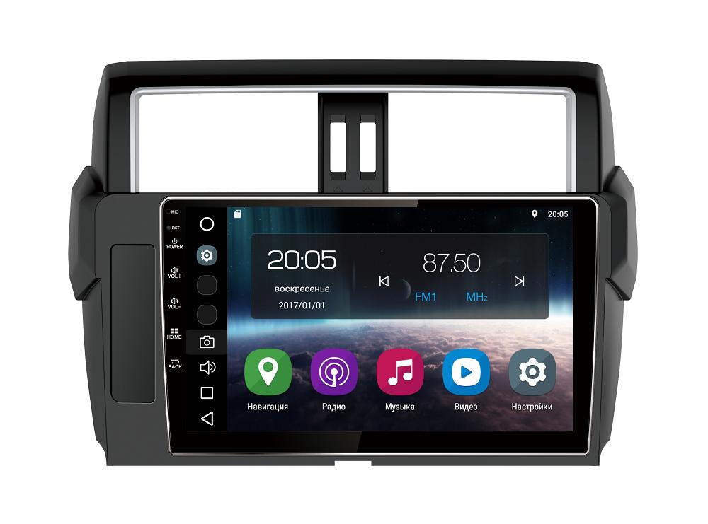Штатная магнитола FarCar s200 для Toyota Land Cruiser Prado 150 (2014+) на Android (V347R-DSP)