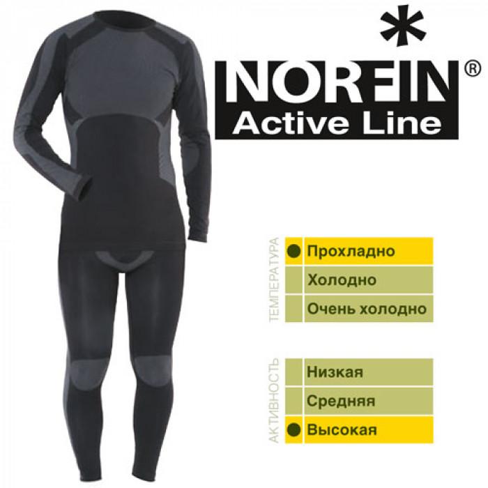 купить Термо-кофта Norfin ACTIVE LINE 2 TP 02 р.M-L (+ Поливные капельницы в подарок!) по цене 3900 рублей