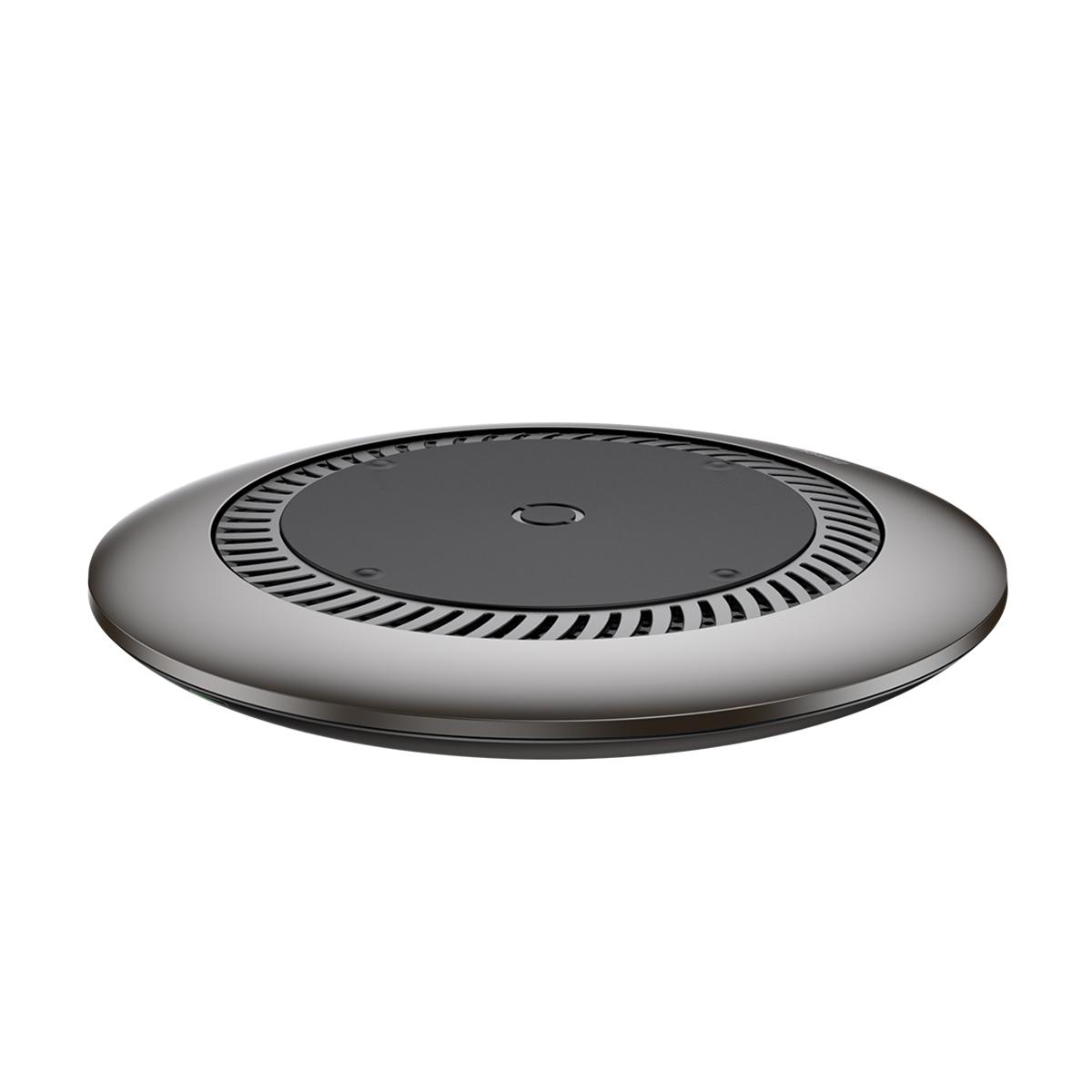 Беспроводное зарядное устройство Baseus whirlwind Desktop wireless charger Black беспроводное зарядное устройство devia aurora ultra slim wireless black