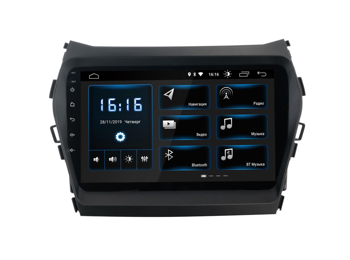 Штатная магнитола InCar XTA-2409 для Hyundai Santa Fe (2013-2018) (Android 8.1) (+ Камера заднего вида в подарок!)