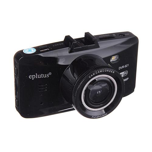 Eplutus DVR-921 с двумя камерами и Wi-Fi (+ Разветвитель в подарок!) autoexpert dvr 810 black автомобильный видеорегистратор