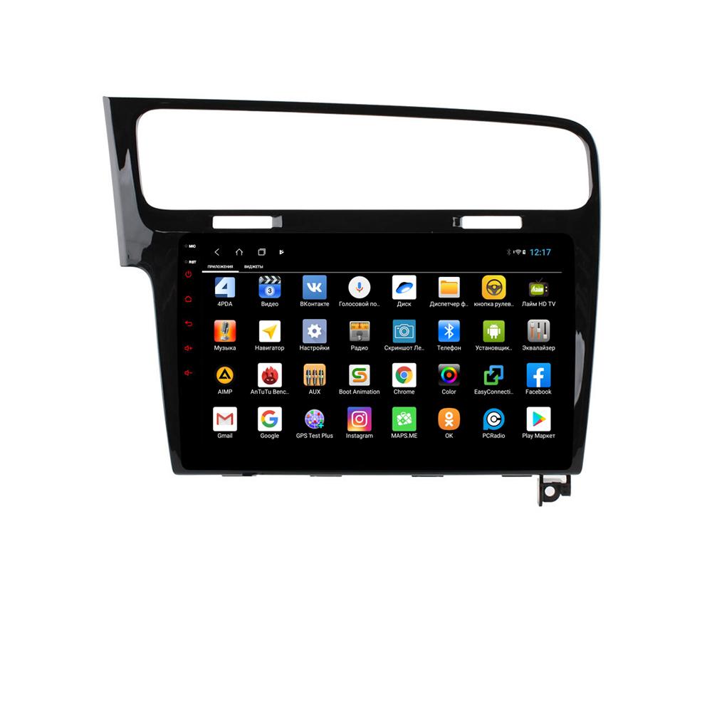 Штатная магнитола Parafar для Volkswagen GOLF 7 Android 8.1.0 (PF257XHD) (+ Камера заднего вида в подарок!)