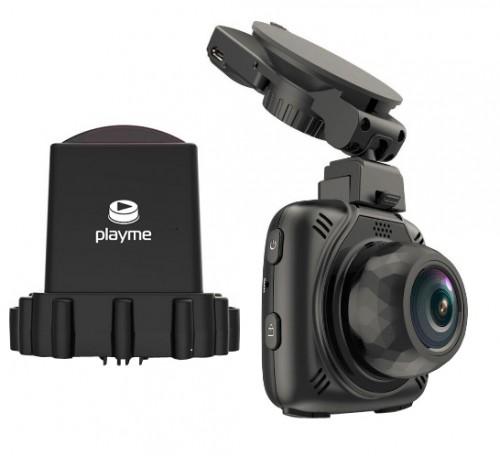 Видеорегистратор с радар-детектором Playme MAXI (+ Антисептик-спрей для рук в подарок!)
