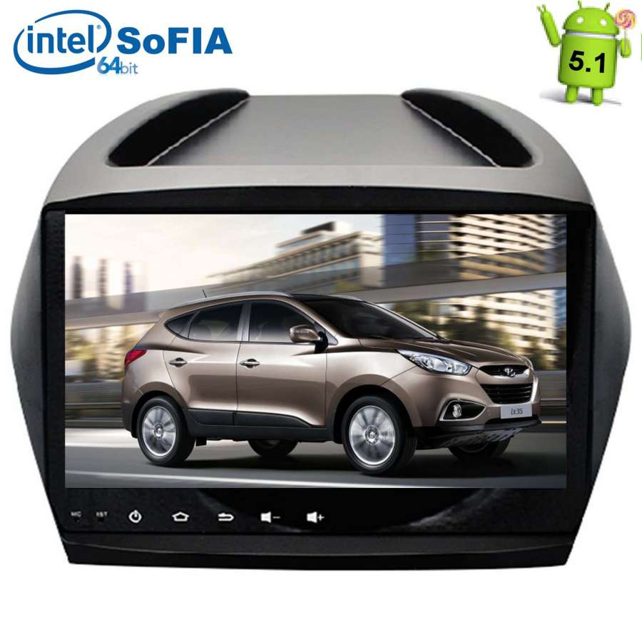 Штатная магнитола LeTrun 1567 для Hyundai IX35 Android 5.1 7060b 7 inch 12v auto 2 din bluetooth tft screen car audio stereo mp3 mp4 mp5 player support aux fm usb sd mmc