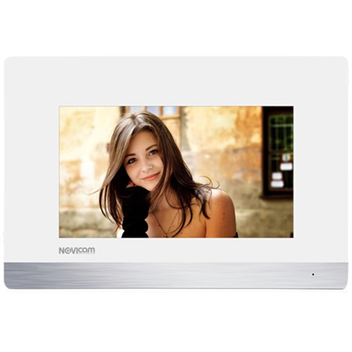 Сенсорный монитор HD домофона с записью Novicam FREEDOM 7 (+ Салфетки из микрофибры в подарок)