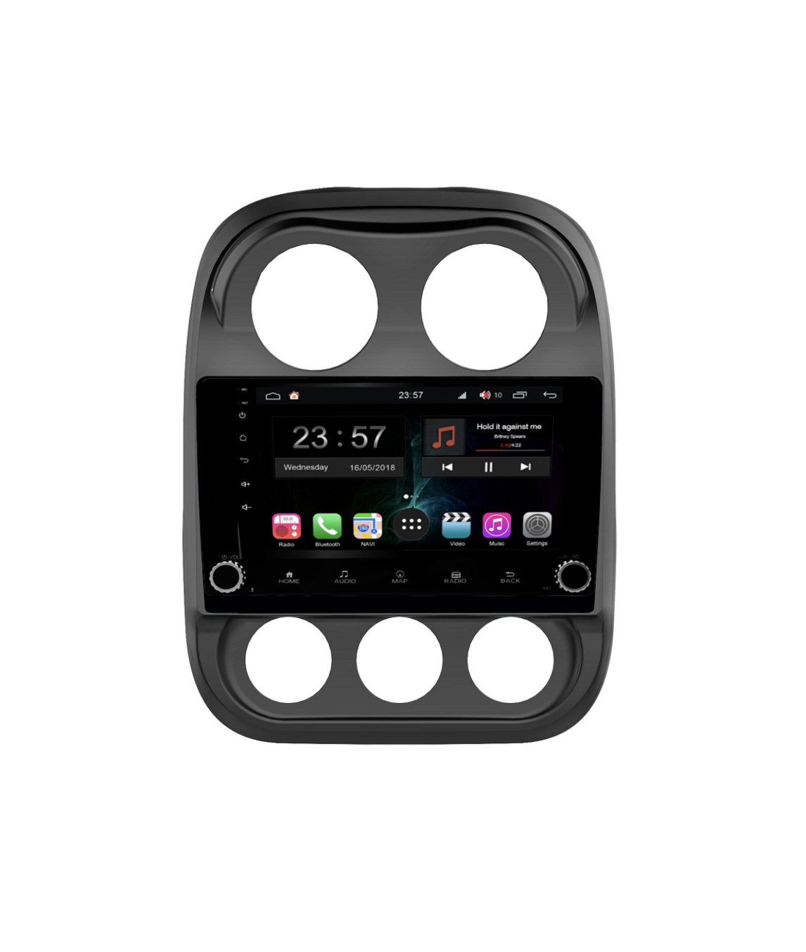 Штатная магнитола FarCar s300-SIM 4G для Jeep Compass на Android (RG1078RB) (+ Камера заднего вида в подарок!) штатная магнитола farcar s160 для toyota highlander на android m467bs