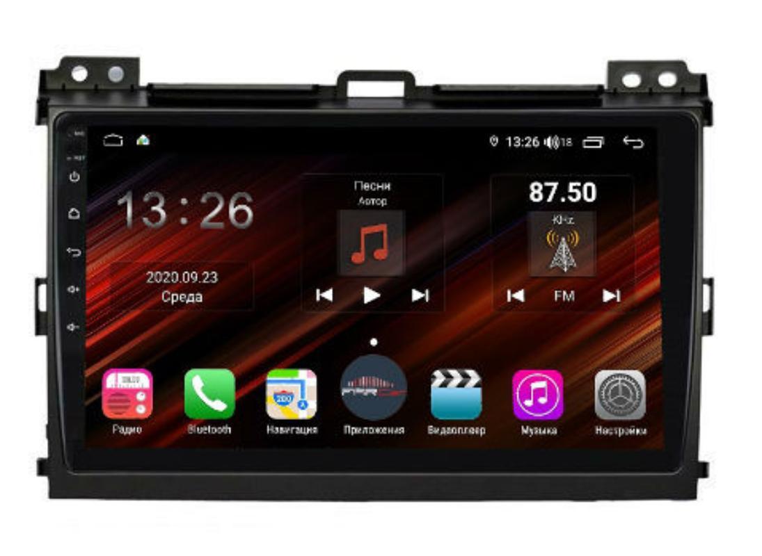 Штатная магнитола FarCar s400 Super HD для Toyota Prado на Android (XH456R) (+ Камера заднего вида в подарок!)