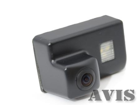 CMOS штатная камера заднего вида AVIS AVS312CPR для PEUGEOUT 206 / 207 / 307 SEDAN / 307SW / 407 (#070) молдинги green grain 206 207 307 308 3008 407 408 508