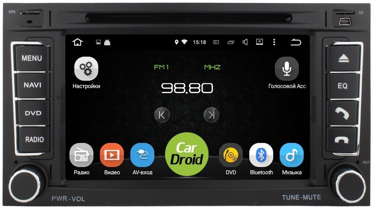 Штатная магнитола Roximo CarDroid RD-3703D для Volkswagen Touareg 2006  (Android 8.0) DSPRoximo<br>Магнитолы CarDroid - это новейшее поколение штатных головных устройств.  Восьмиядерный процессор RockChip RK3368 1.5GHz 64-bit SoC Octa-core Cortex-A53 и 4Гб оперативной памяти обеспечат надежную работу устройства и установленных приложений.