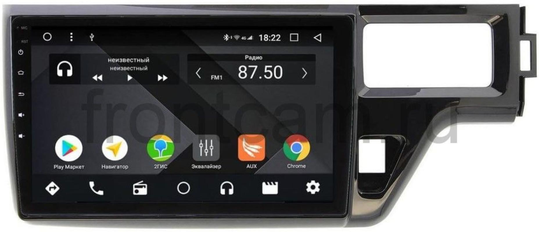 Штатная магнитола Wide Media CF1099PM-4/64 для Honda Stepwgn V 2015-2021 на Android 9.1 (TS9, DSP, 4G SIM, 4/64GB) (+ Камера заднего вида в подарок!)