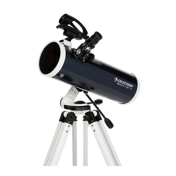 Фото - Телескоп Celestron Omni XLT 114 AZ (+ Книга «Космос. Непустая пустота» в подарок!) телескоп bresser arcturus 60 700 az книга космос непустая пустота в подарок