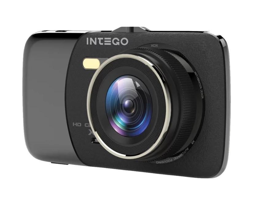 Видеорегистратор Intego VX-395DUAL видеорегистратор intego vx 215hd