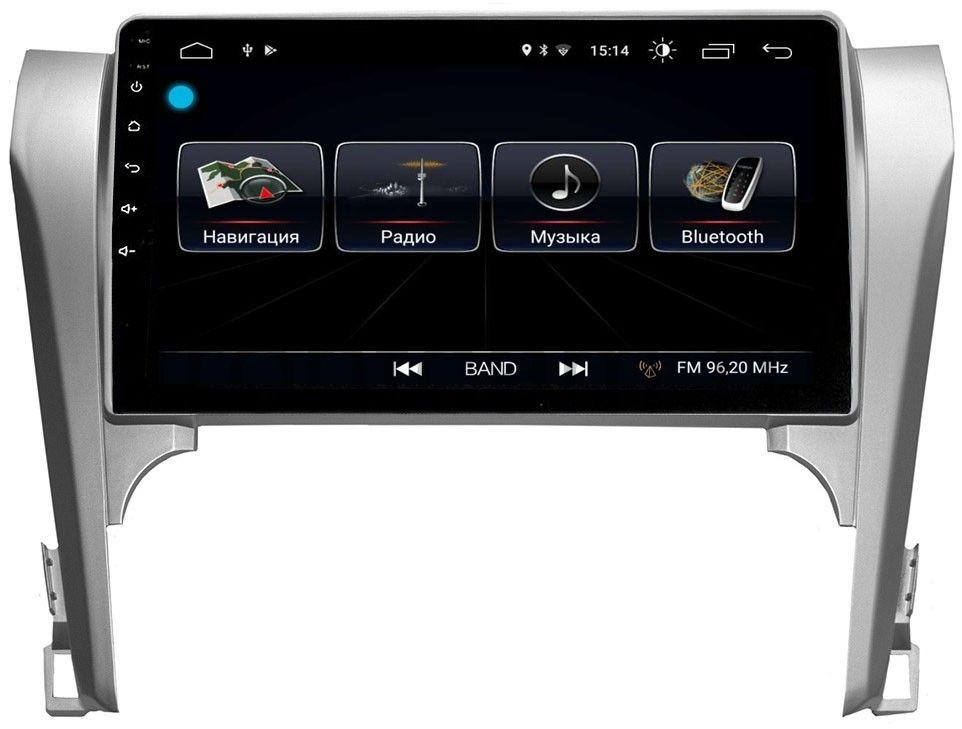 Штатная магнитола LeTrun 1897 для Toyota Camry V50 2011-2014 на Android 8.0.1 MTK-L 1GbLeTrun<br>Штатная магнитола для Toyota Camry V50 2011-2014 LeTrun 1897 на Android 8.0.1 MTK-L 1Gb - это настоящий мультимедийный комплекс для вашего автомобиля.  GPS навигация, Bluetooth громкая связь, воспроизведение с USB SD флеш носителей MKV, MP4, DIVX, Lossless Audio, JPEG,MP3 и WMA,3G интернет ,Wi-Fi, FM/AM радио, возможность подключения Apple iPhone, iPad.