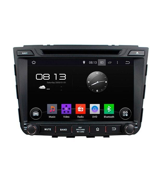 Штатная магнитола для Hyundai Creta 2016+ CARMEDIA KD-8106-P3-7 на Android 7.1 штатная магнитола carmedia kd 1000 p3 7 универсальная установка ii din
