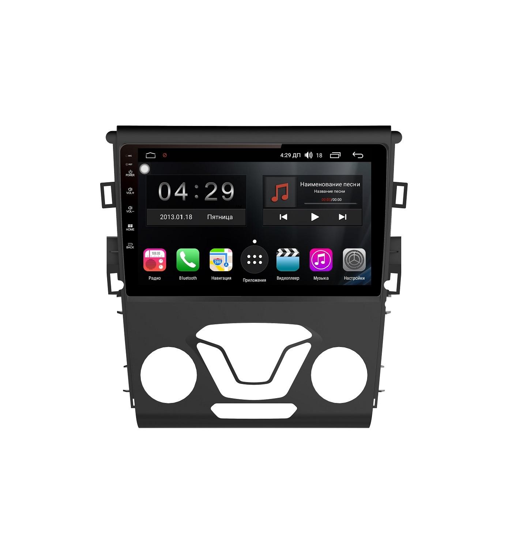 Штатная магнитола FarCar s300-SIM 4G для Ford Mondeo 2013+ на Android (RG377R) (+ Камера заднего вида в подарок!)