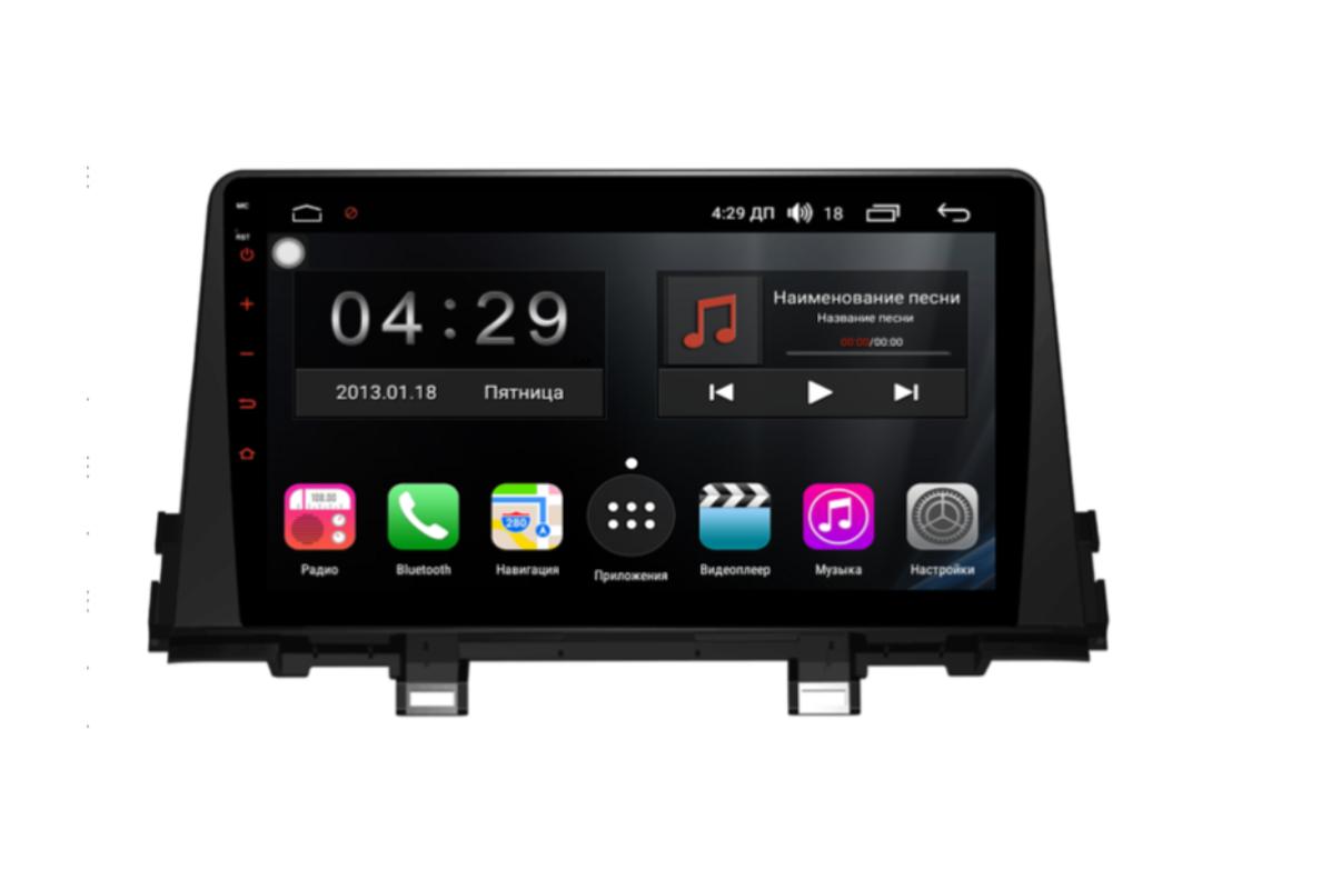 Фото - Штатная магнитола FarCar s300-SIM 4G для KIA Picanto на Android (RG795R) (+ Камера заднего вида в подарок!) штатная магнитола farcar s300 sim 4g для mercedes r class на android rt215r камера заднего вида в подарок