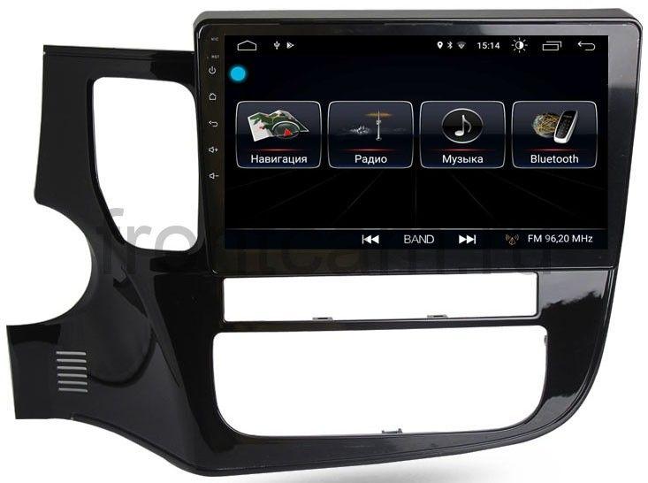 Штатная магнитола LeTrun 2177 для Mitsubishi Outlander III 2012-2019 на Android 8.0.1 MTK-L 1Gb (+ Камера заднего вида в подарок!)