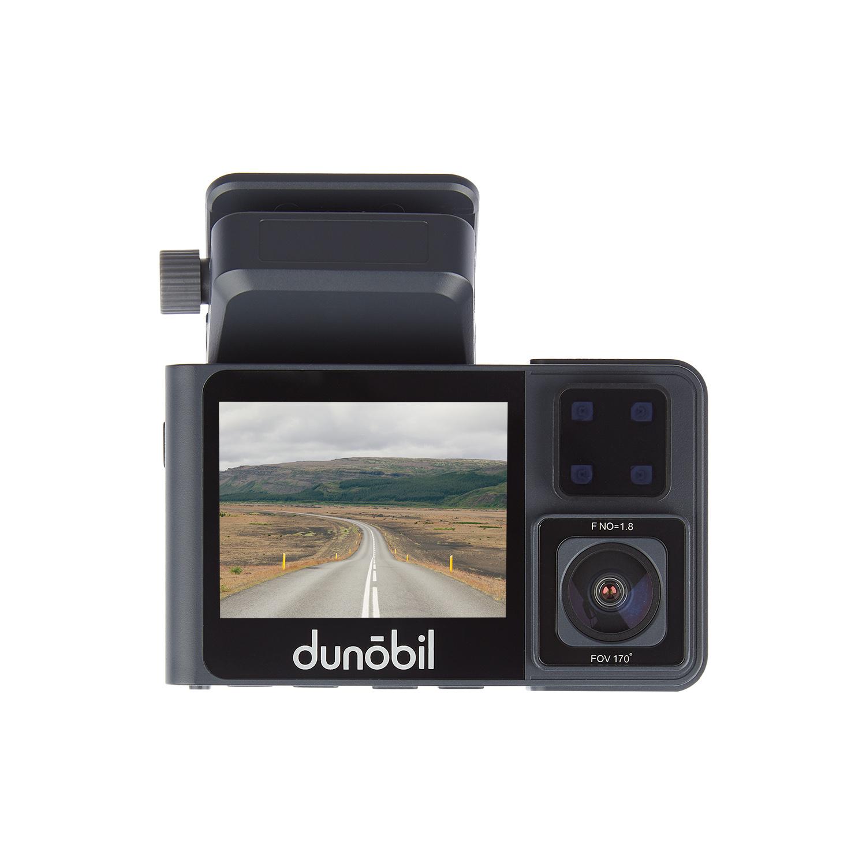 Видеорегистратор с двумя камерами Dunobil Vis Duo(ИК подсветка) (+ Разветвитель в подарок!)