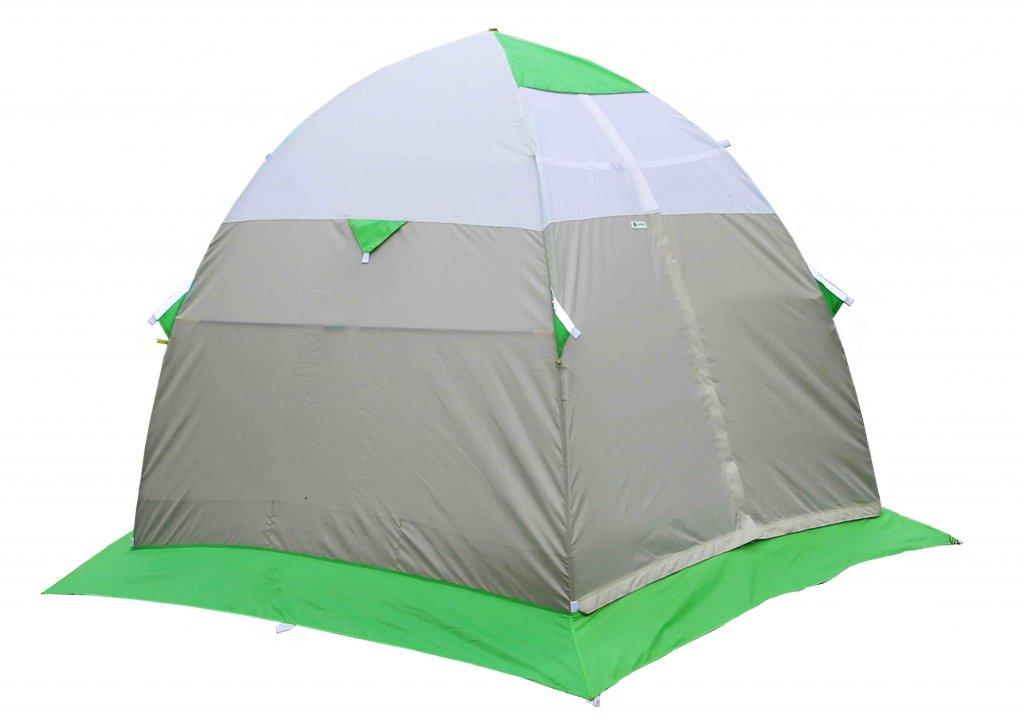Зимняя палатка Лотос 3 (+ Дарим комплект ввертышей для палаки.) палатка 3 м larsen military 3