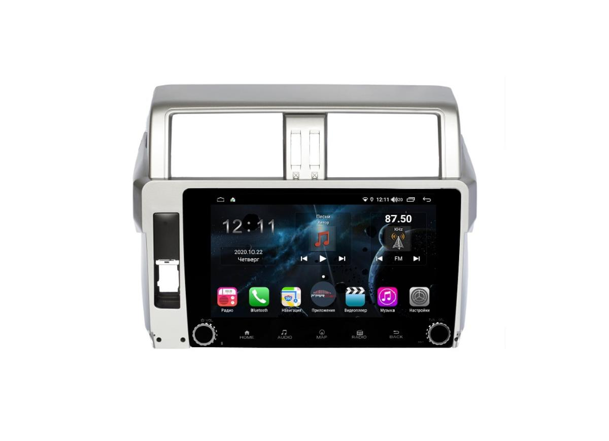 Штатная магнитола FarCar s400 для Toyota Land Cruiser Prado 150 на Android (H531RB) (+ Камера заднего вида в подарок!)