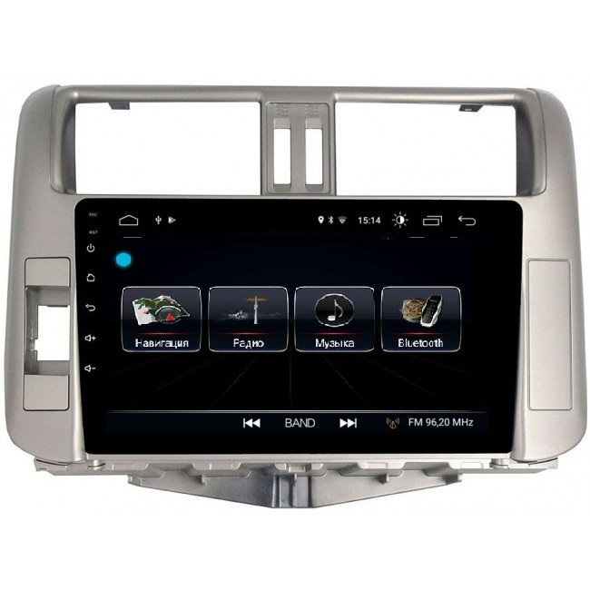 Штатная магнитола LeTrun 1863 для Toyota Land Cruiser Prado 150 2009-2013 Android 8.0.1 MTK-L 2Gb штатная магнитола daystar ds 7083hd toyota land cruiser 100 android 6 4 ядра