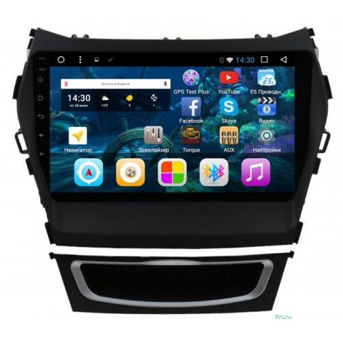 Штатная автомагнитола VOMI VM1890-T8 для Hyundai SantaFe 3 MAX + карман Android 8 (+ Камера заднего вида в подарок!)
