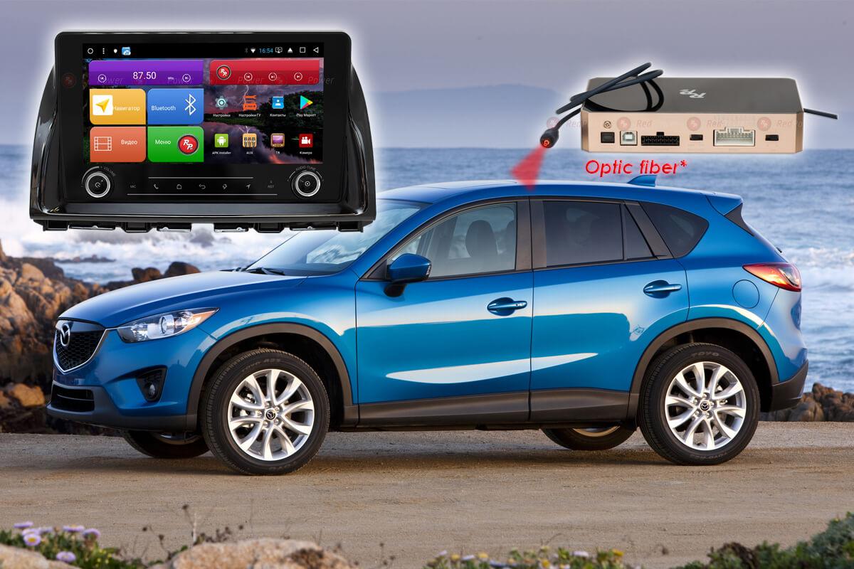 Автомагнитола для Mazda CX-5 RedPower K 51112 R IPS DSP ANDROID 8+ (+ Камера заднего вида в подарок!)
