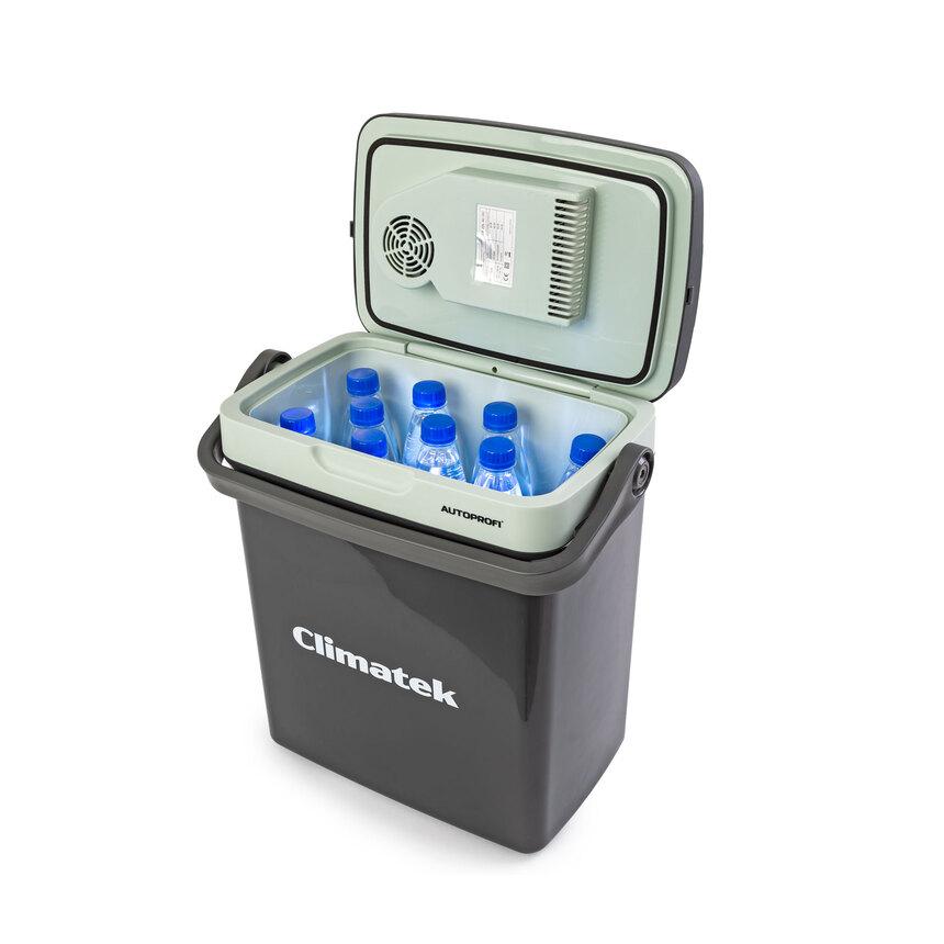 Термоэлектрический автохолодильник Climatek CB-20L AC/DC (20л/12/220В/охлаждение, нагрев) автохолодильник mobicool g26 ac dc