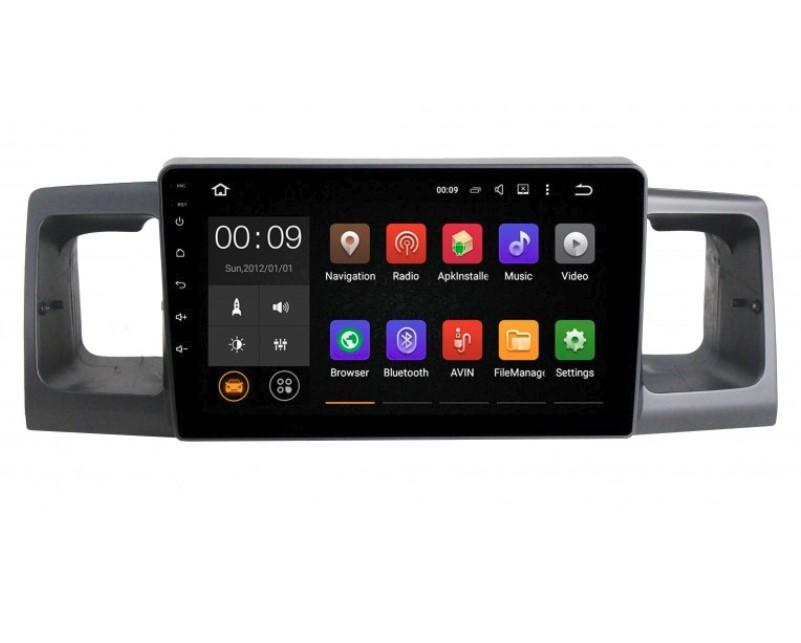 Фото - Штатная магнитола Roximo 4G RX-1101 для Toyota Corolla E12 (Android 6.0) (+ камера заднего вида) штатная магнитола roximo 4g rx 1113 для toyota land cruiser 200 2015 android 6 0