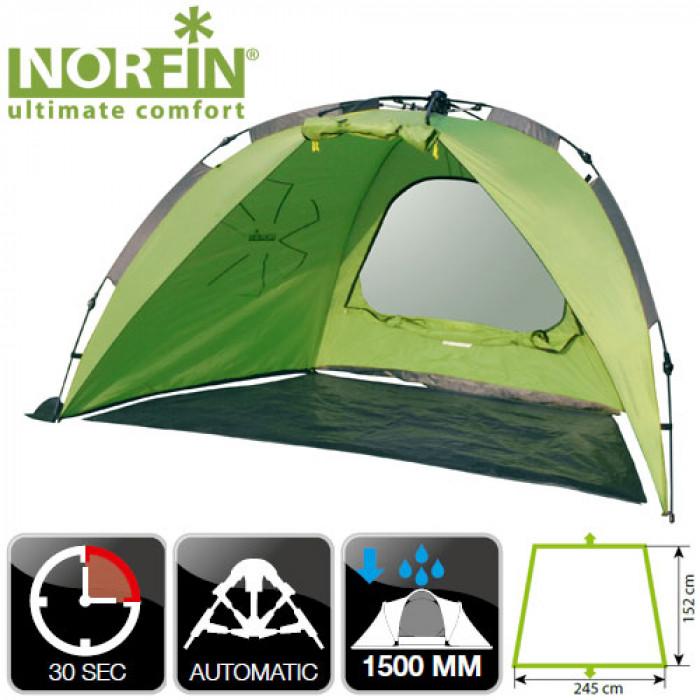цена на Палатка автоматическая рыболовная Norfin IDE NF (+ Дарим комплект ввертышей для палаки.)