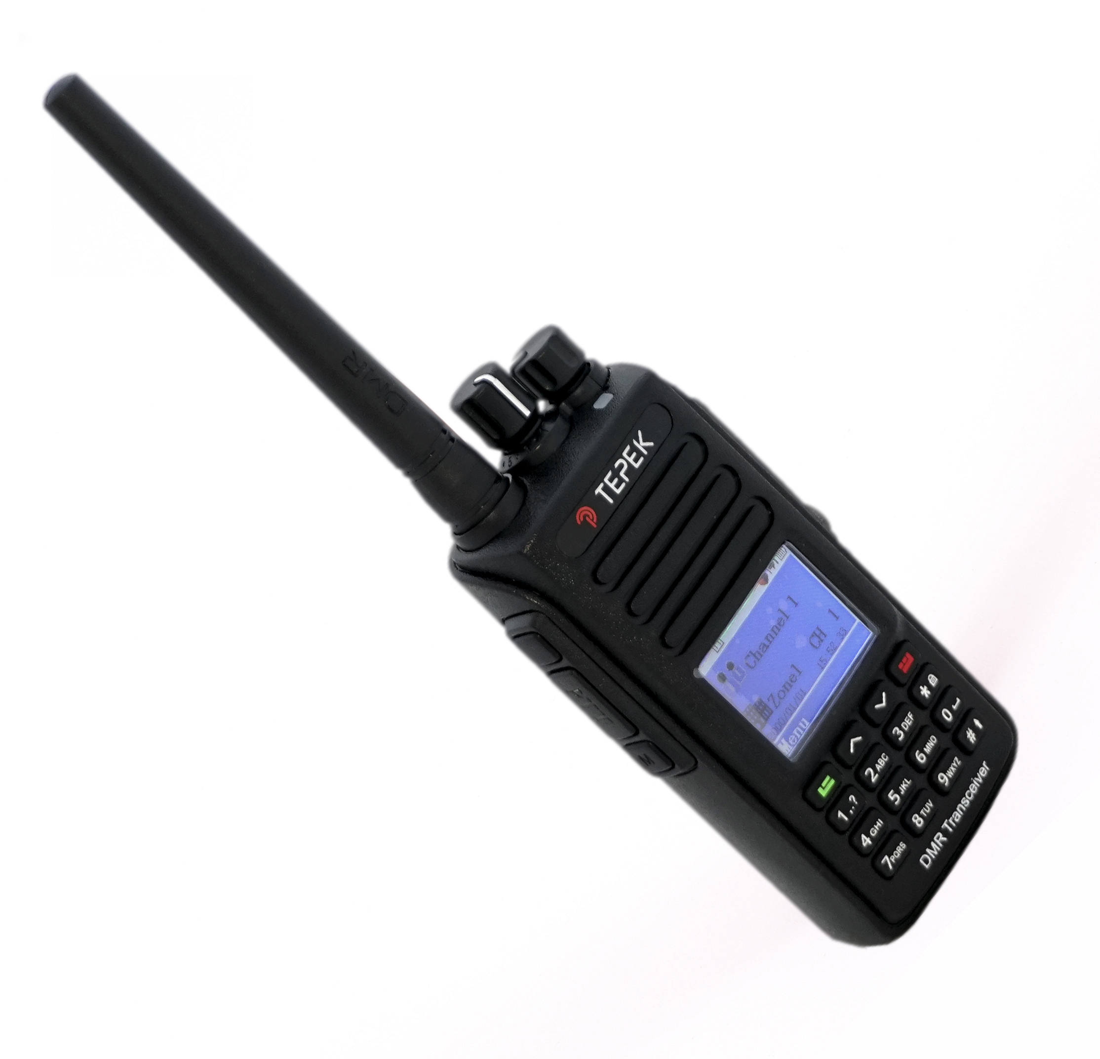 Портативная рация Терек РК-322-DMR UHF (+ Гарнитура в подарок!) портативная рация терек рк 202 vhf гарнитура в подарок