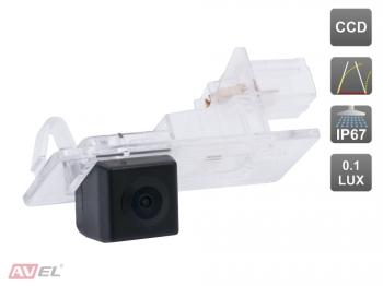 CCD штатная камера заднего вида с динамической разметкой AVS326CPR (#071) для автомобилей RENAULT