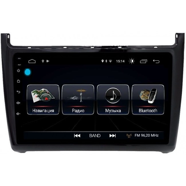 Штатная магнитола LeTrun 1883 для Volkswagen Polo 5 2009-2018 Android 8.0.1 MTK-L 2Gb android 5 1 1 2 din touch screen gps car stereo double din navigation vehicle audio am fm radio bluetooth wifi 1080p phone link