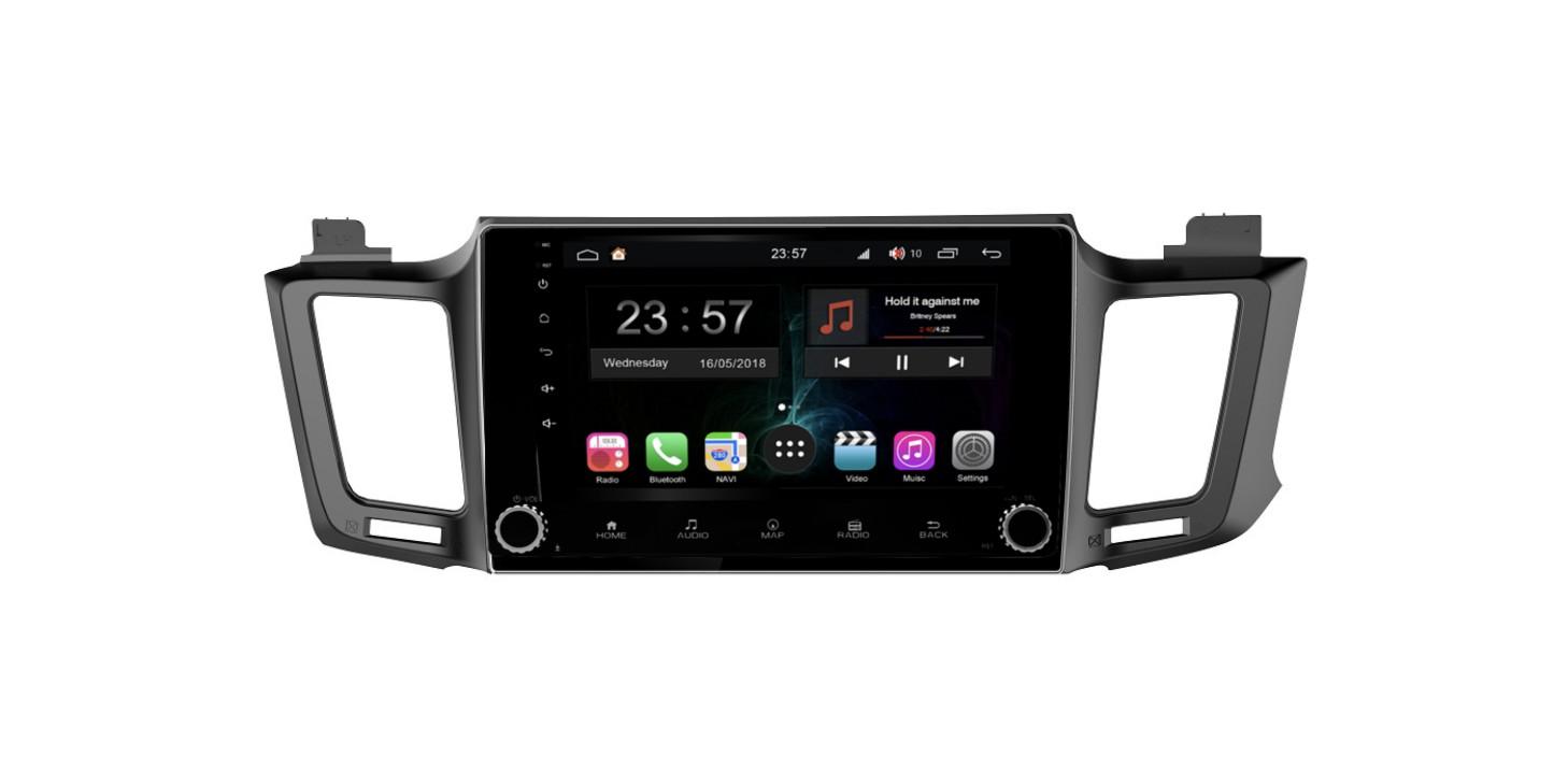 Штатная магнитола FarCar s300-SIM 4G для Toyota RAV-4 на Android (RG468RB) (+ Камера заднего вида в подарок!)