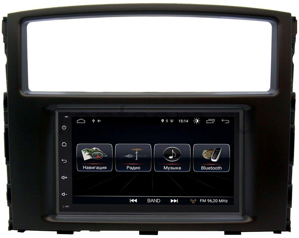 Штатная магнитола LeTrun 2380-RP-MMPJ7Xc-24 для Mitsubishi Pajero IV (2006-2019) Android 8.0.1 MTK-L (+ Камера заднего вида в подарок!)