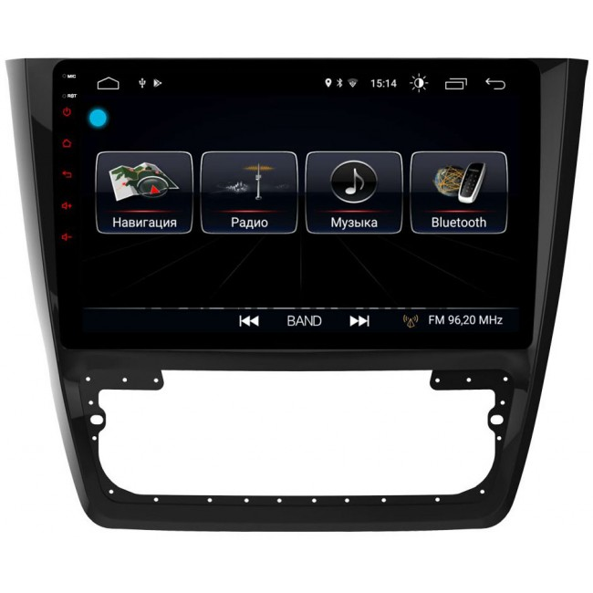 Штатная магнитола LeTrun 1888 для Skoda Yeti I 2009-2017 Android 8.0.1 MTK-L 2Gb 7060b 7 inch 12v auto 2 din bluetooth tft screen car audio stereo mp3 mp4 mp5 player support aux fm usb sd mmc