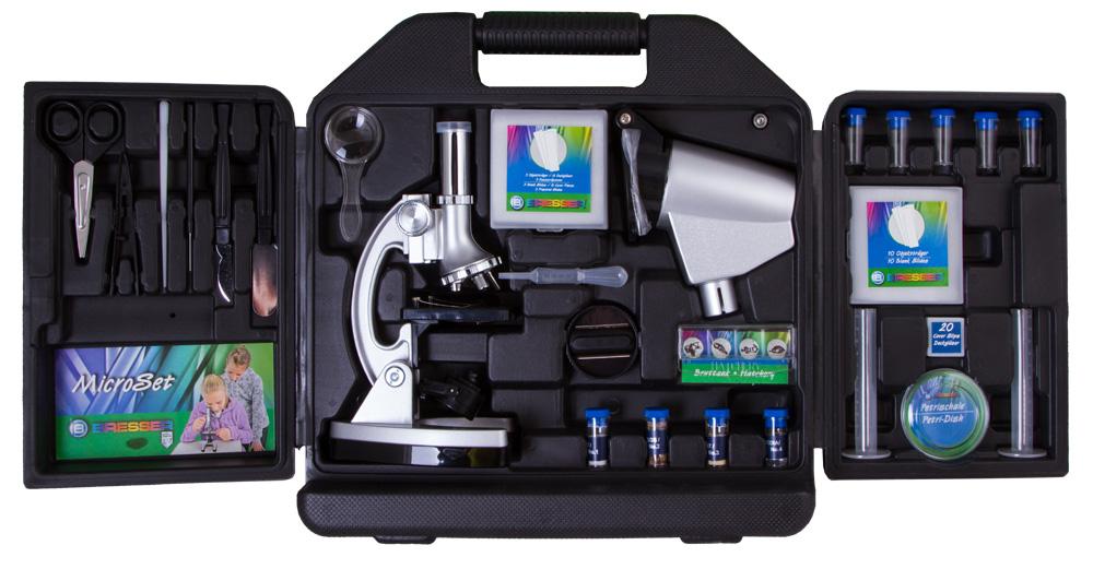 Фото - Микроскоп Bresser Junior Biotar 300x-1200x, в кейсе (+ Книга «Невидимый мир» в подарок!) надеждина в подушки валики пуфы