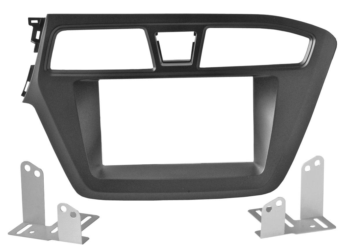 Переходная рамка Intro RHY-N50 для Hyundai i-20 2015+ (крепеж) переходная рамка intro rhy n09 для hyundai elantra 07 10 avante 2din воздуховод
