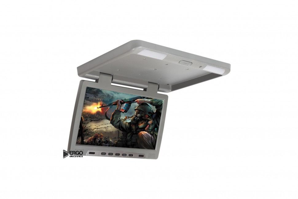 Автомобильный потолочный монитор 15.6 ERGO ER15F (USB/SD/HDMI/AV)