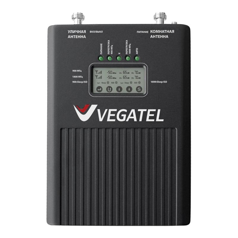 Репитер VEGATEL VT2-900E/1800 (LED) репитер vegatel vt2 900e 3g led