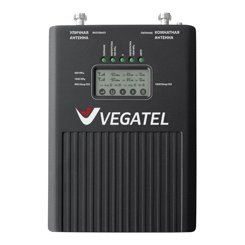 Репитер VEGATEL VT2-900E/1800 (LED) simcom sim900 gsm gprs module quadband 850 900 1800 1900 mhz for arduino gprs module green