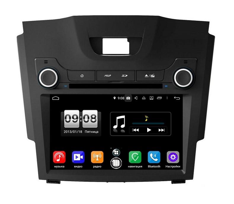 Штатная магнитола FarCar s250 для Chevrolet Colorado, Trailblazer 2013+ на Android (RA435) (+ камера заднего вида)