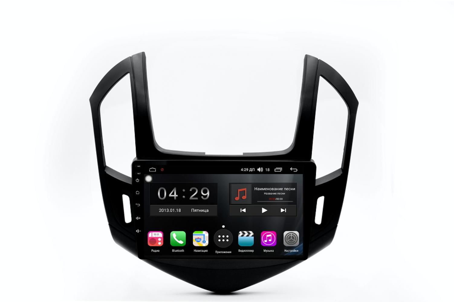 Штатная магнитола FarCar s195 для Chevrolet Cruze на Android (LX261R) (+ Камера заднего вида в подарок!)