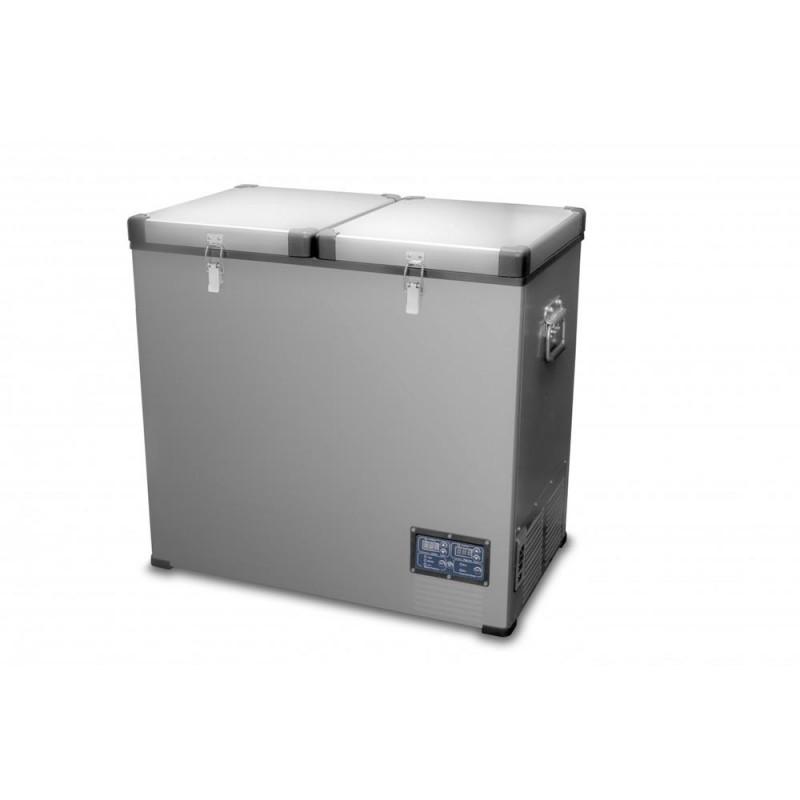 Автохолодильник компрессорный двухдверный Indel B TB118 STEEL цена и фото