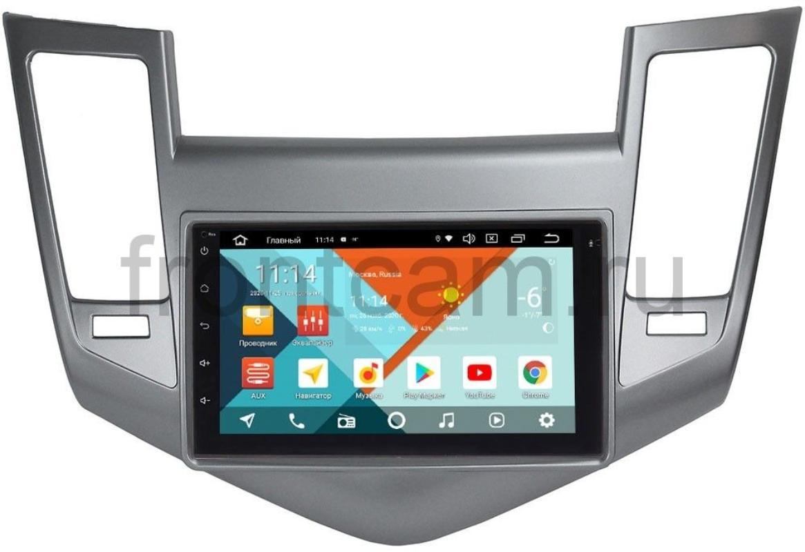 Штатная магнитола Chevrolet Cruze I 2009-2012 Wide Media KS7001QR-3/32-RP-CVCRB-55 на Android 10 (DSP CarPlay 4G-SIM) (+ Камера заднего вида в подарок!)