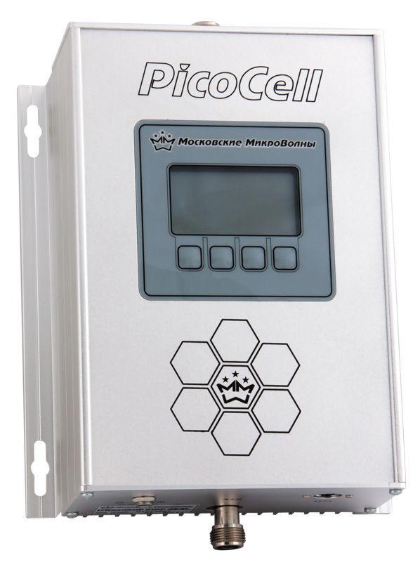 Репитер PicoCell 1800 SXLРепитеры (усилители)<br>Репитер (усилитель) PicoCell 1800 SXL является комплектующим изделием <br>для построения ретрансляционных систем сотовой связи.Репитер с мощностью<br> 320 мВт, усиление 75дБ. Площадь покрытия до 1200 кв.м. Встроенная <br>система защиты сети операторов от помех. Данная модель актуальна для <br>городских объектов.