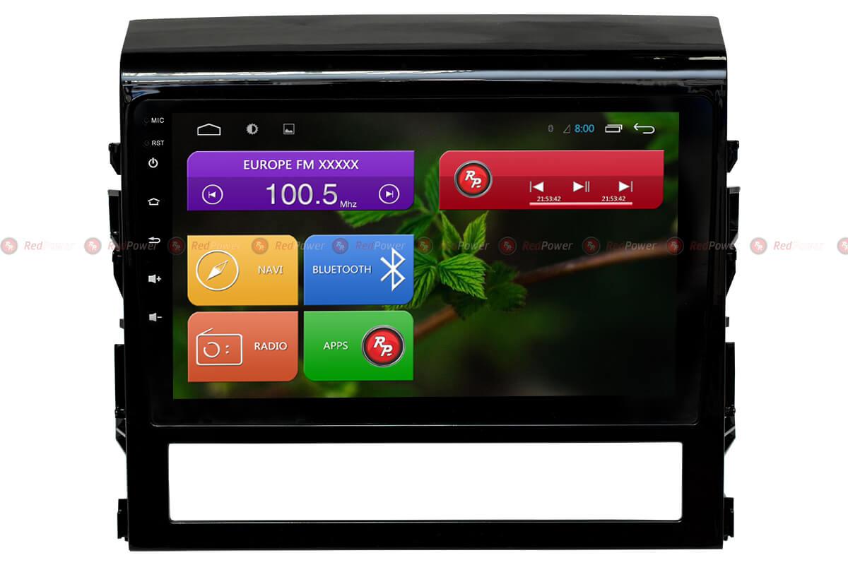 Автомагнитола для Toyota LC200 Redpower 31201 R IPS DSP ANDROID 7RedPower<br>RedPower – многофункциональные магнитолы с широким набором функций. На борту GPS/ГЛОНАСС модуль, есть возможность подключения к сети Интернет, удобная функция громкой связи и открытая операционная система Android. Доступ в PlayMarket позволяет устанавливать огромное количество приложений, делая ШГУ незаменимым помощником водителя.
